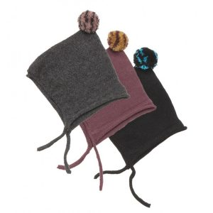 Oeuf Wool Tuque With Pompom