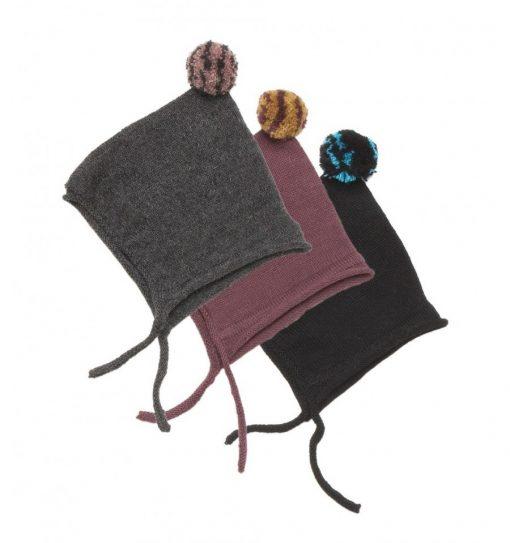 Tuque en laine avec pompom