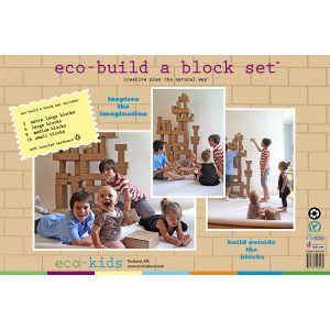 Eco-Kids Eco Build A Block Set